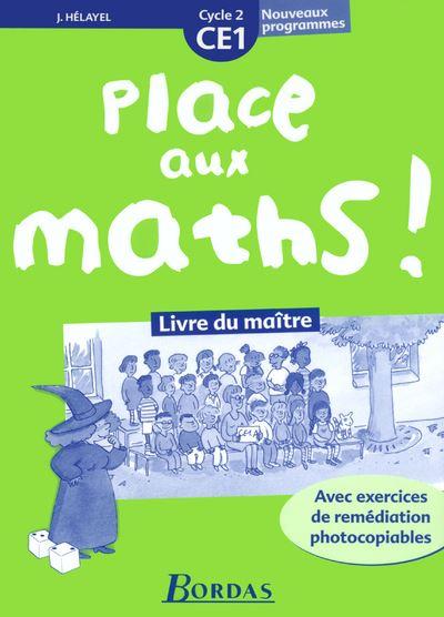 Place aux maths ce1 prof 2003