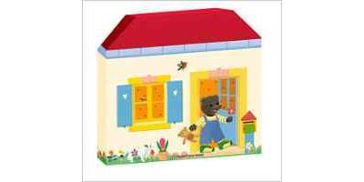 Ma maison à histoires Petit Ours Brun - 5 mini-livres