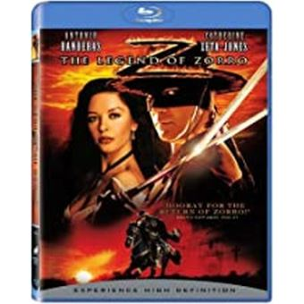 La légende de Zorro Blu-Ray