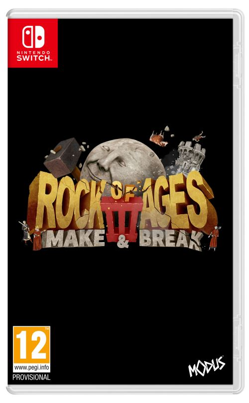 Rock of Ages 3 Make and Break Nintendo Switch