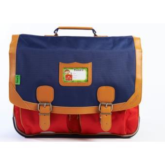 cartable tann 39 s classic bicolore bleu rouge 41 cm cartable sac dos primaire achat. Black Bedroom Furniture Sets. Home Design Ideas