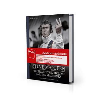 Steve McQueen Portrait d'un homme par ses machines Coffret 3 DVD + Livre - Exclusivité Fnac