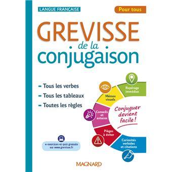 Grevisse De La Conjugaison Broche Benedicte Gaillard Achat Livre Ou Ebook Fnac