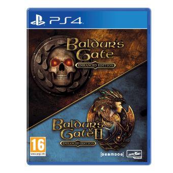THE BALDURS GATE EHANCED EDITION FR/NL PS4