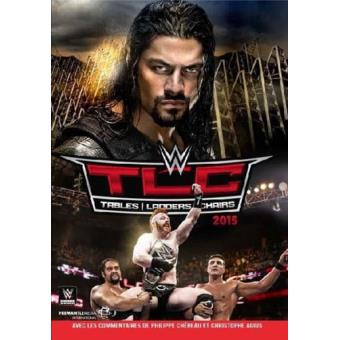 TLC 2015 Tables Ladders Chairs WWE DVD