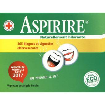 Calendrier 2017 Aspirire, naturellement hilarante