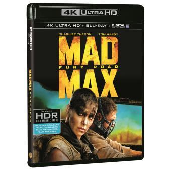 Mad MaxMad Max Fury Road Blu-ray 4k