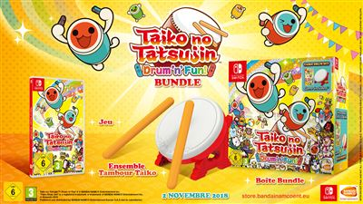 Taiko no Tatsujin Drum'n'Fun ! Edition Collector Nintendo Switch