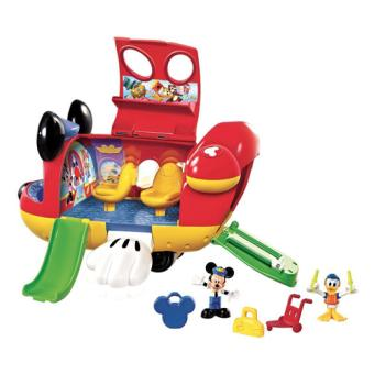 la jet de mickey fisher price jouet tirer ou pousser. Black Bedroom Furniture Sets. Home Design Ideas