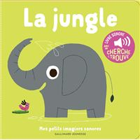 La jungle, Livre sonore