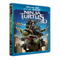 Ninja Turtles Combo  Blu-Ray 3D/2D + DVD