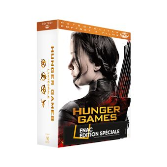 Hunger GamesHunger Games l'intégrale Coffret Edition Collector Fnac DVD