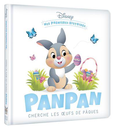 Panpan cherche les œufs de Pâques
