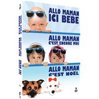 Coffret Allo maman La trilogie DVD