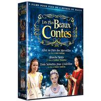 Coffret Plus beaux contes DVD