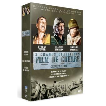 Guérillas aux Philippines - Baïonnette au canon - Raid sur Entebbe Coffret 3 DVD