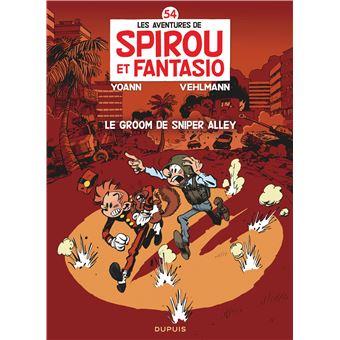 Spirou et FantasioLe Groom de Sniper Alley