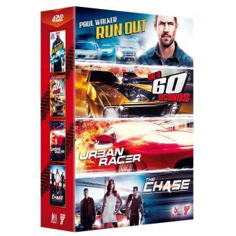 Coffret Course-poursuite 4 films DVD