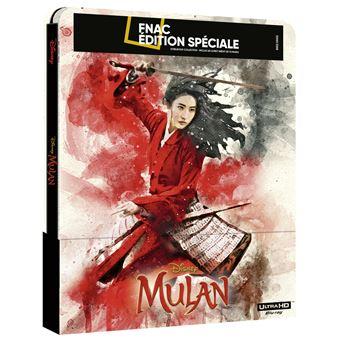 Les Blu-ray Disney en Steelbook [Débats / BD]  - Page 15 Mulan-Steelbook-Edition-Speciale-Fnac-Blu-ray-4K-Ultra-HD