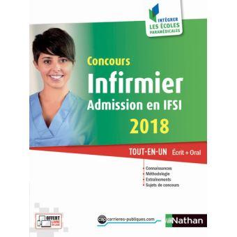 concours infirmier admission en ifsi 2018 broch collectif achat livre fnac. Black Bedroom Furniture Sets. Home Design Ideas