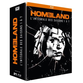 HomelandHOMELAND BOX S1 - S7 BLU RAY-FR