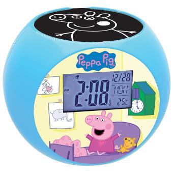 Radio Réveil Projecteur Peppa Pig Lexibook