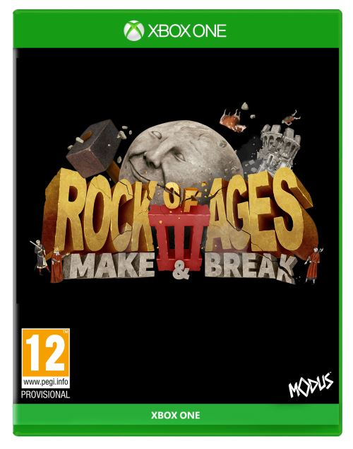 Rock of Ages 3 Make and Break Xbox One