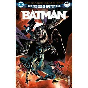 BatmanBatman rebirth,08:la ligue des ombres est a gotham