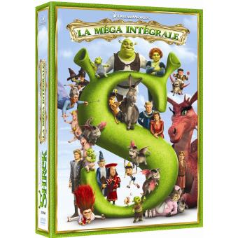 Coffret Shrek La Quadrilogie DVD