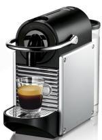 NESP Expresso à capsules Nespresso Magimix Pixie Gris métal
