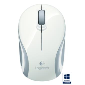 souris sans fil logitech m187 blanche souris achat prix fnac. Black Bedroom Furniture Sets. Home Design Ideas