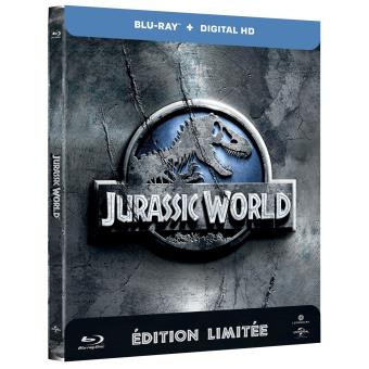 Jurassic ParkJurassic World Steelbook Blu-ray