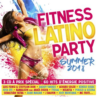 Fitness Latino Party Summer 2018 Coffret