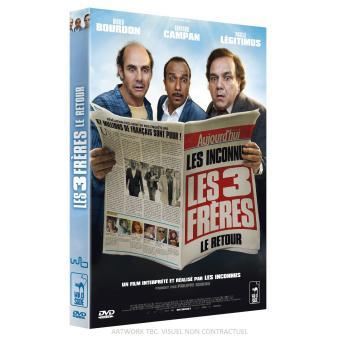 Les trois frères, le retour DVD