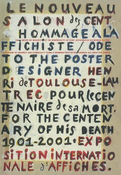 Nouveau salon des cent hommage à l'affichiste Toulouse-Lautrec