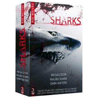 Coffret Requins 3 films DVD