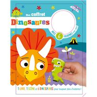 Les dinosaures (coll. coffret livre et figurines)