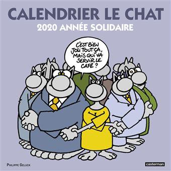 Le Chat Calendrier 2020 Le Chat