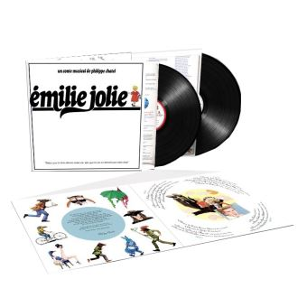 Emilie Jolie 40eme Anniversaire Vinyle Gatefold
