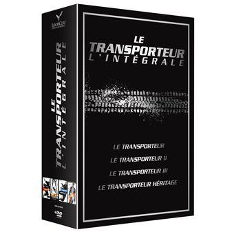 TransporteurCoffret Le Transporteur 4 films DVD