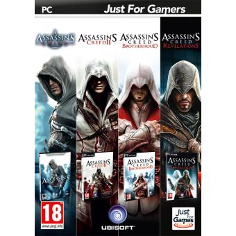pack 4 jeux assassin 39 s creed pc jeux vid o achat prix fnac. Black Bedroom Furniture Sets. Home Design Ideas