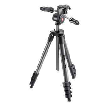 Trépied Compact Advanced Manfrotto Kit Trépied-Rotule 3D