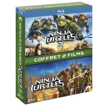 Ninja TurtlesNinja Turtles Coffret 2 films Blu-ray