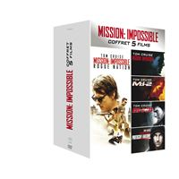 Coffret Mission impossible 5 films DVD