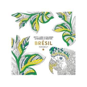 Le Petit Livre De Coloriage Brésil Broché Collectif Achat