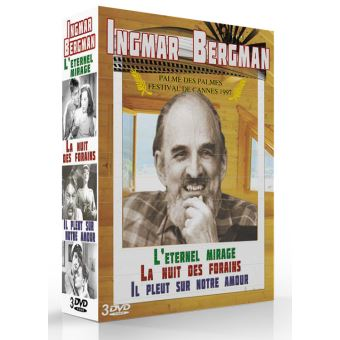Coffret Bergman 3 films DVD