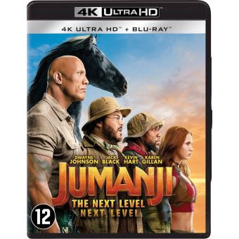 JUMANJI: THE NEXT LEVEL-BIL-BLURAY 4K