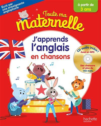 Célèbre Toute Ma Maternelle J'apprends l'anglais + CD audio dès 3 ans  FJ76