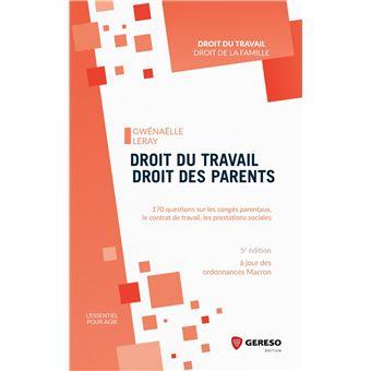 Droit du travail  droit des parents