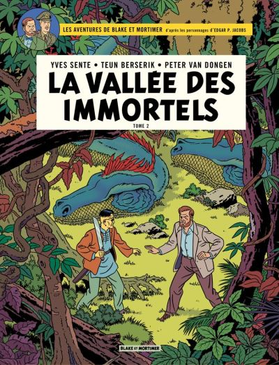Blake & Mortimer - Volume 26 - La Vallée des immortels - 9782505084471 - 9,99 €
